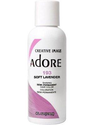 Adore Adore Semi-Permanent Haarverf - Soft Lavender Nummer 193 118ml