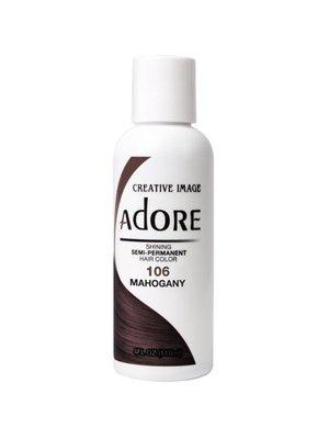 Adore Adore Semi-Permanent Haarverf - Mahogany Nummer 106 118ml