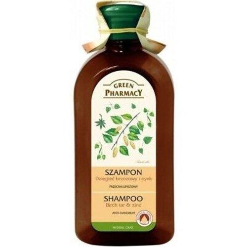 Green Pharmacy Green Pharmacy Shampoo - Birch Tar & Zinc 350ml