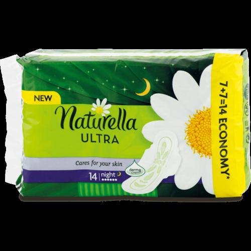 Naturella Naturella Ultra Maandverband - Night 14 stuks