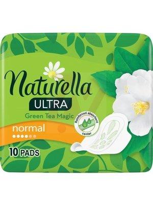 Naturella Naturella Green Tea Magic Ultra Maandverband -  Normal 10 stuks