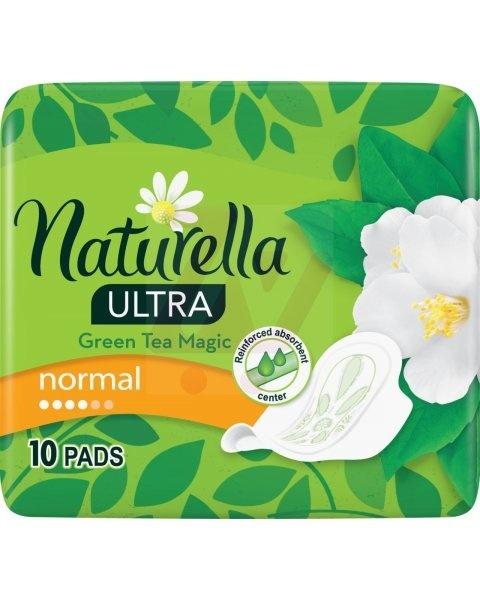 Image of Naturella Naturella Green Tea Magic Ultra Maandverband - Normal 10 stuks