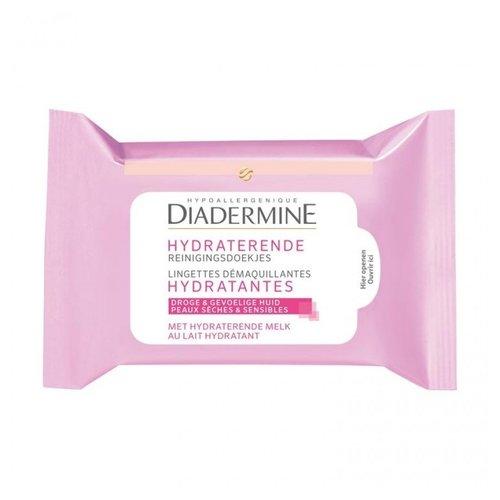 Diadermine Diadermine Hydraterende Reinigingsdoekjes - 25 stuks