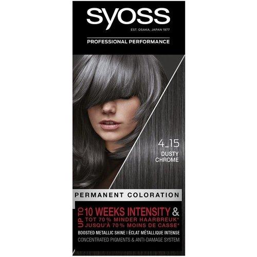 Syoss Syoss Haarverf - Dusty Chrome 4-15