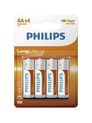 Philips Philips - 4x AA Batterijen