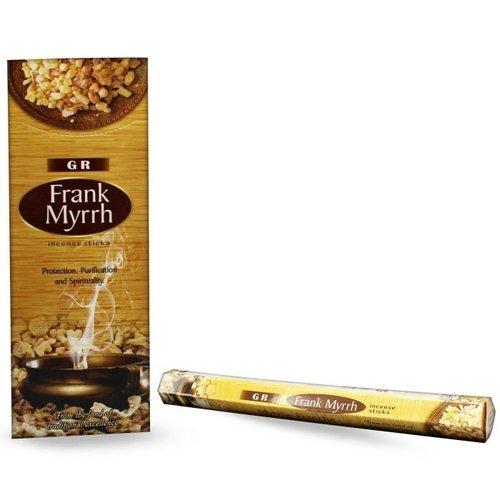 Wierook Frank Myrrh - 20 Stokjes