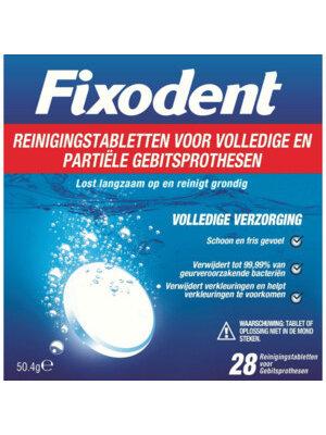 Fixodent Fixodent - Reinigingstabletten Voor Gebitsprothese 28 Stuks