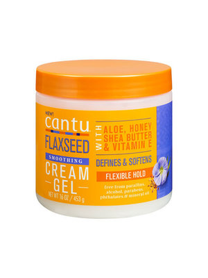 Cantu Cantu Flaxseed - Smoothing Cream Gel 453g