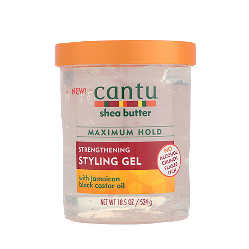 Cantu Cantu Shea Butter - Strengthening Styling Gel with Jamaican Black Castor Oil 524g
