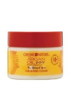 Creme of Nature Creme of Nature Argan Oil - Curl & Hold Custard  326g