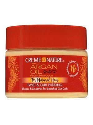 Creme of Nature Creme of Nature Argan Oil - Twist & Curl Pudding 326g