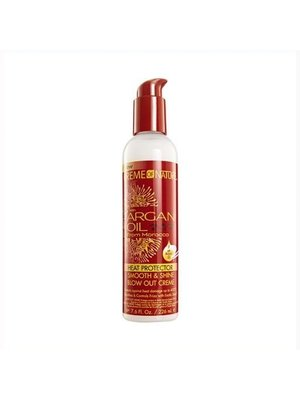Creme of Nature Creme of Nature Argan Oil - Heat Protector Smooth & Shine Blow Out Creme 226ml