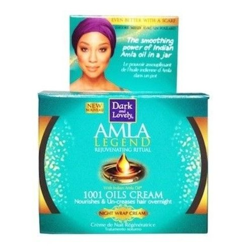 Dark & Lovely Dark and Lovely Amla Legend - 1001 Oil Night Wrap Cream 150 ml