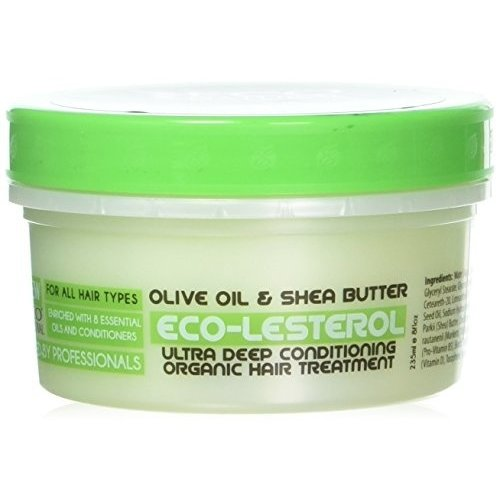 Eco Eco Style Natural Eco‑lesterol Olive & Shea Butter - Hair Treatment 227g