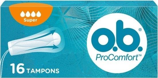 Image of OB Tampons - Procomfort Super16pcs