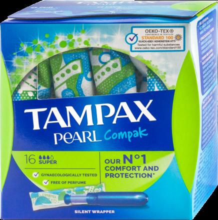 Image of Tampax - Tampons Super 16pcs