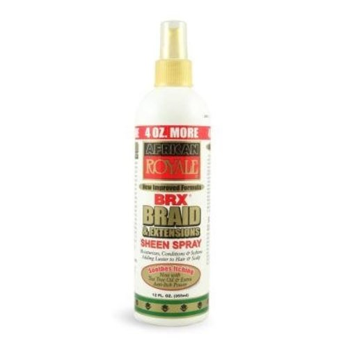 African Royale Sheen Spray - BRX Braid & Extensions 355ml