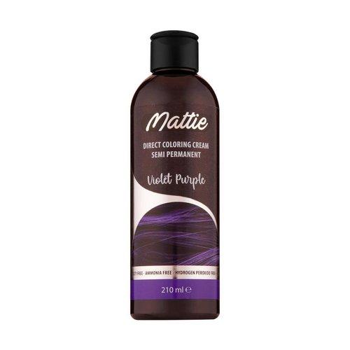 Mattie Direct Coloring Cream Semi-Permanent  - Violet Purple 210ml