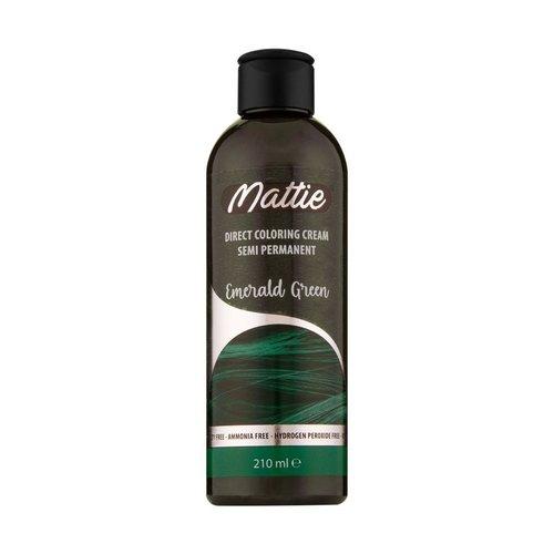 Mattie Direct Coloring Cream Semi-Permanent  - Emerald Green 210ml