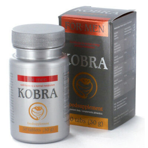 Kobra For Men Erectiepillen - 30 tabletten