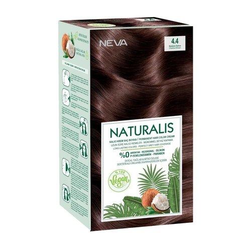Neva Naturalis Vegan Haarverf - Chestnut Brown 4.4