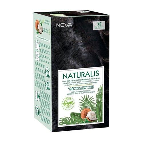 Neva Naturalis Vegan Haarverf - Intens Dark Brown 3.0