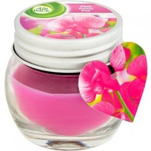 Air Wick Pink Sweet Pea - Geurkaars 30g