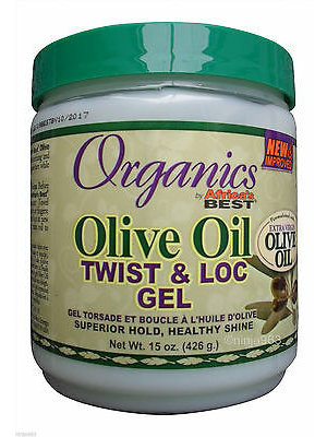 Africa's Best Organics Olive - Twist & Loc Gel 426g
