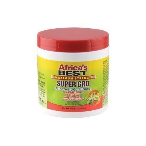 Africa's Best -  Maximum Strength Super Gro Hair and Scalp Conditioner 149g