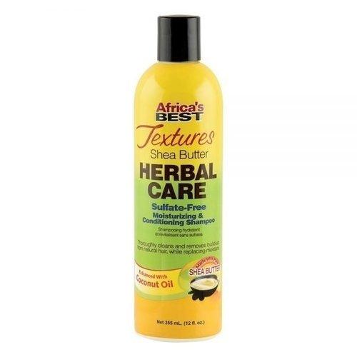 Africa's Best Textures - Shea Butter Herbal Care Shampoo 355ml