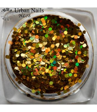 Urban Nails Hexagon Line 08