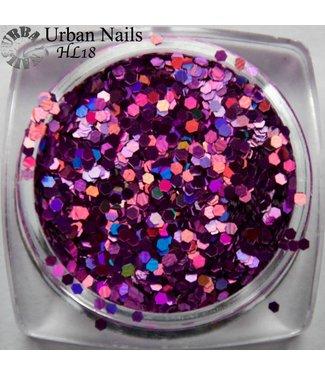 Urban Nails Hexagon Line 18
