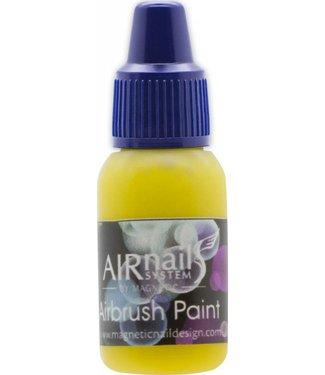 Magnetic Nail Design AirNails Paint 5 Yellow 10 ml.