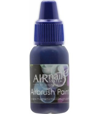 Magnetic AirNails Paint 4 Blue 10 ml.