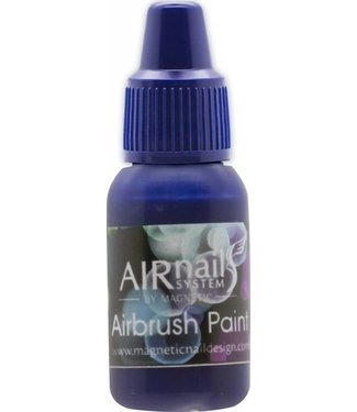 Magnetic AirNails Paint 9 Purple 10 ml.