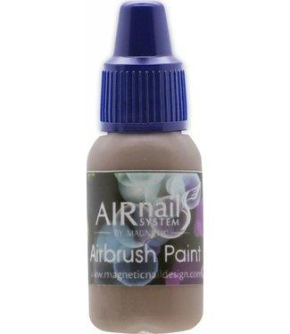 Magnetic AirNails Paint Light Brown 13 10 ml.
