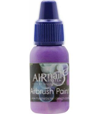 Magnetic AirNails Paint BlueBerry 18 10 ml.