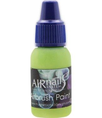 Magnetic AirNails Paint Apple Green 44 10 ml.