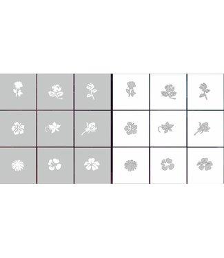 Magnetic AirNails Masking Floral 1 Collection