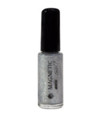 Magnetic 55 Stripe-it Metallic Silver