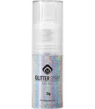 Magnetic Glitter Spray Holo Zilver 17 gr.