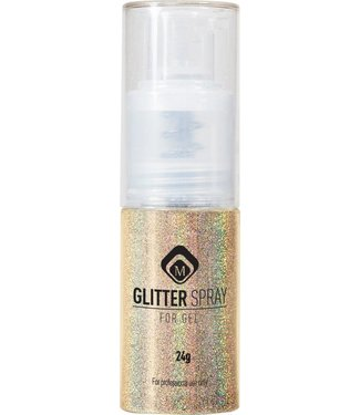 Magnetic Nail Design Glitter Spray Goud 17 gr.