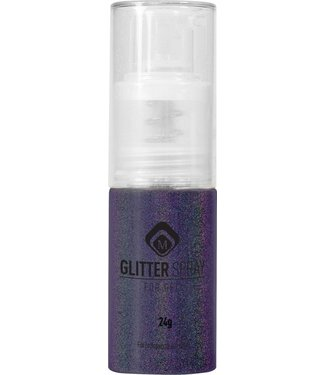 Magnetic Nail Design Glitter Spray Holographic Purple 17 gr.