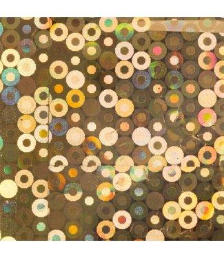 Magnetic Foil Gold Circle