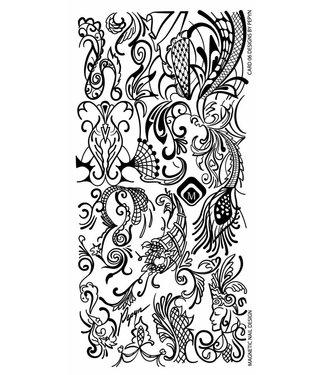 Magnetic Nail Design Stempelplaat By Pepyn
