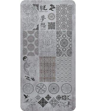 Magnetic Stempelplaat 08 Asian Style