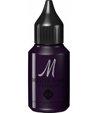 Magnetic Nail Design Master Paint Deep Purple
