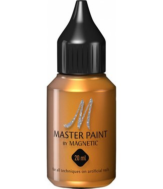 Magnetic Nail Design Master Paint Warm Gold