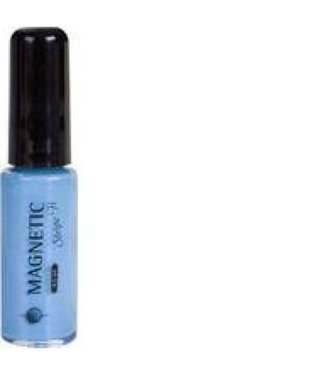 Magnetic Nail Design 9 Stripe-it Baby Blue