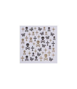 Magnetic Nail Design Nailart Sticker 117082